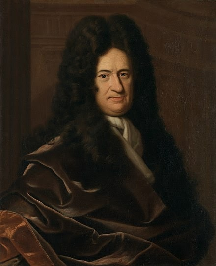 Portrait of Leibniz by Christoph Bernhard Francke (Wikicommons)